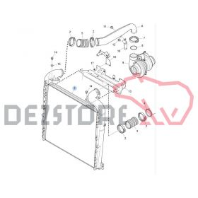 1445398 COLIER FURTUN RADIATOR INTERCOOLER SCANIA R420