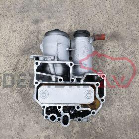 51050007125 MODUL FILTRU ULEI MOTOR MAN (COMPLET CU RACITOR)